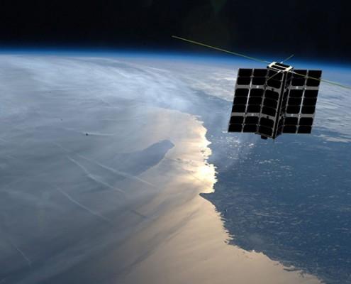 Spire satellite